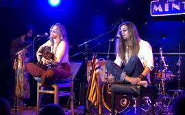 Paris Jackson Performs With Gabriel Glenn 'The Soundflowers' While Mom Debbie Rowe Roots For Her