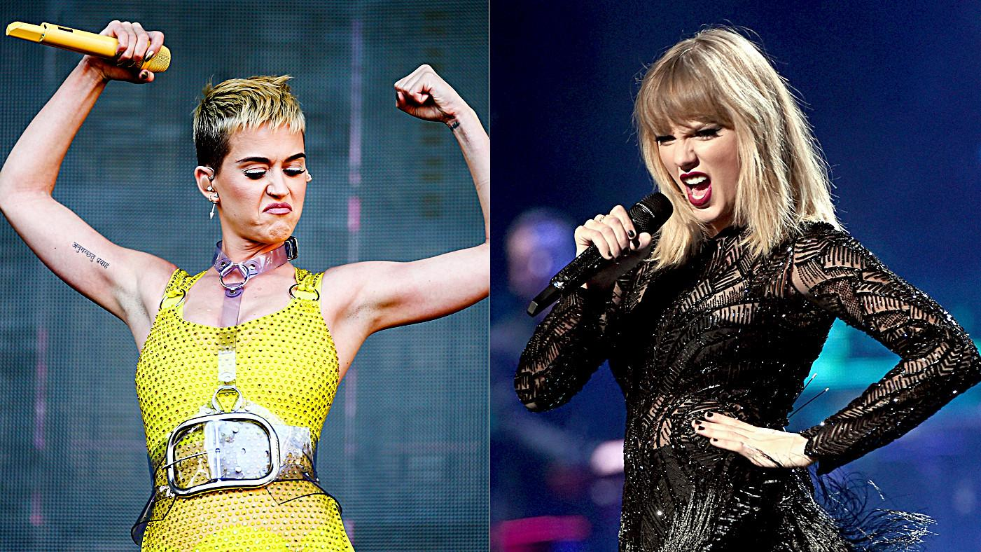 Katy Perry Says She Is 'Open' To Collabing With Old Nemesis Taylor Swift