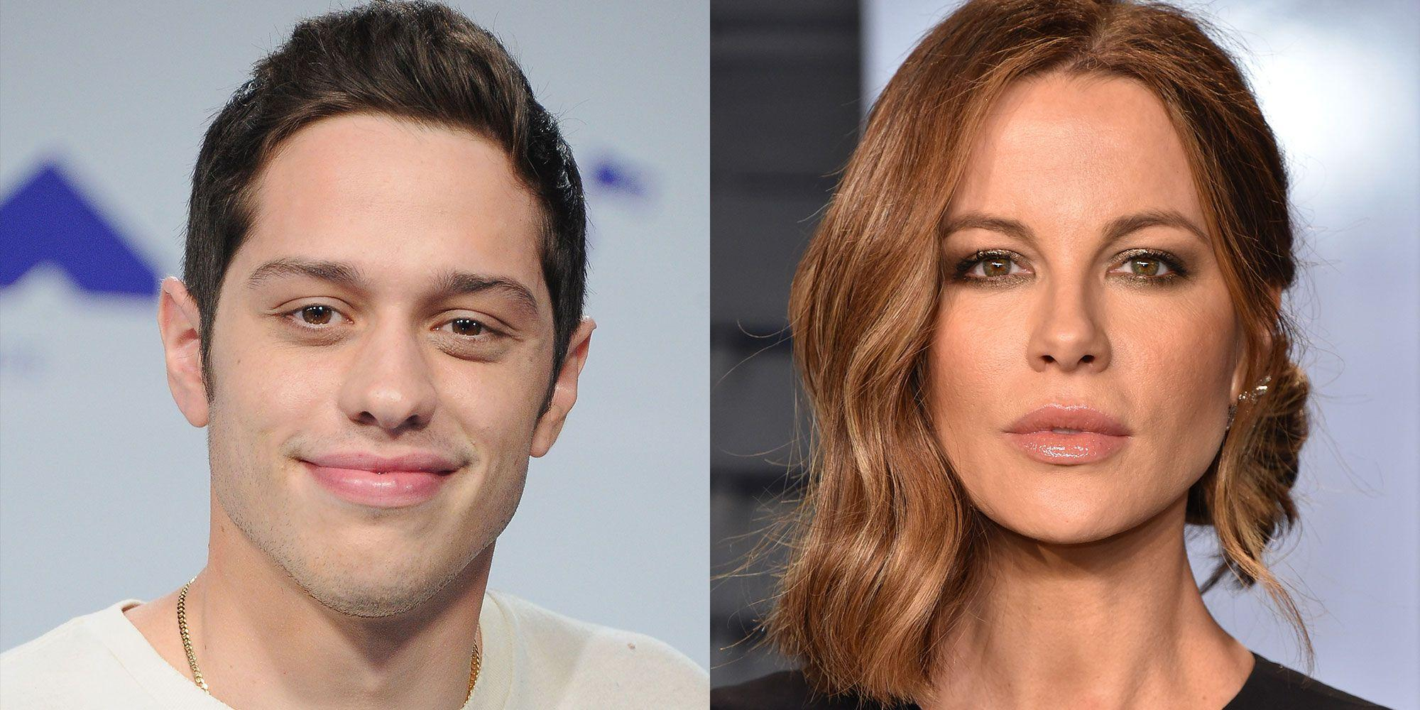 Pete Davidson And Kate Beckinsale Photographed At SNL After-Party Together