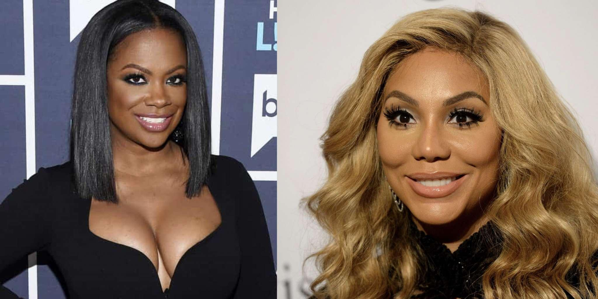 Tamar Braxton Makes Fans Laugh, Checking On Her Summer Body Progress - Kandi Burruss Says She's In The Same Situation
