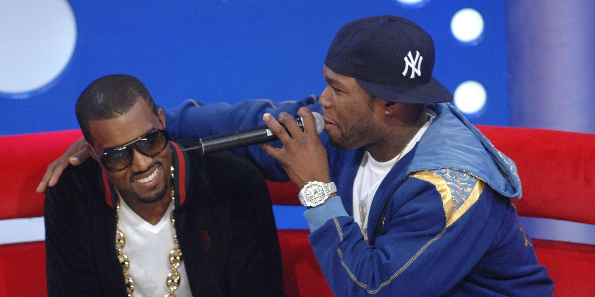 50 Cent Drags Kanye West's Clothing Line