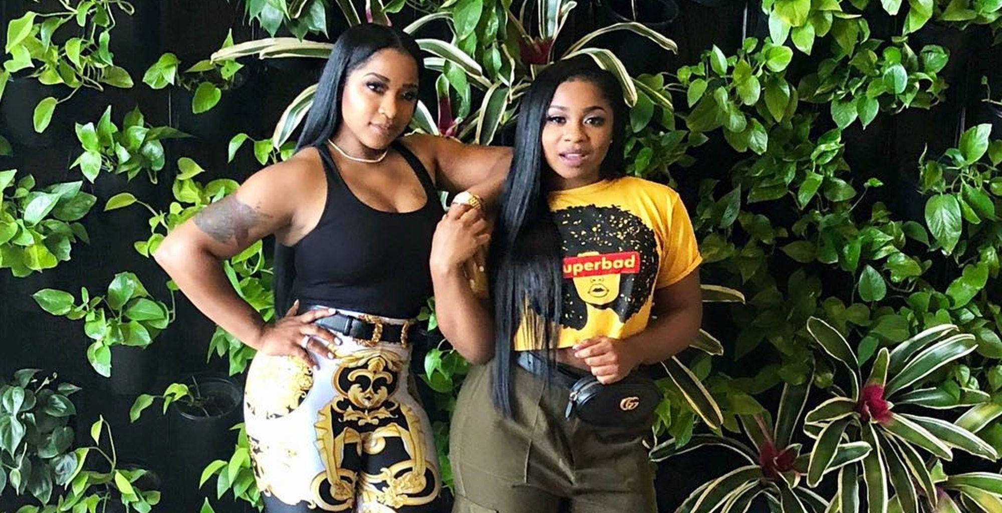 Toya Wright Shares New Pics With Her Daughters And Fans Are In Love With Reign Rushing's Pose