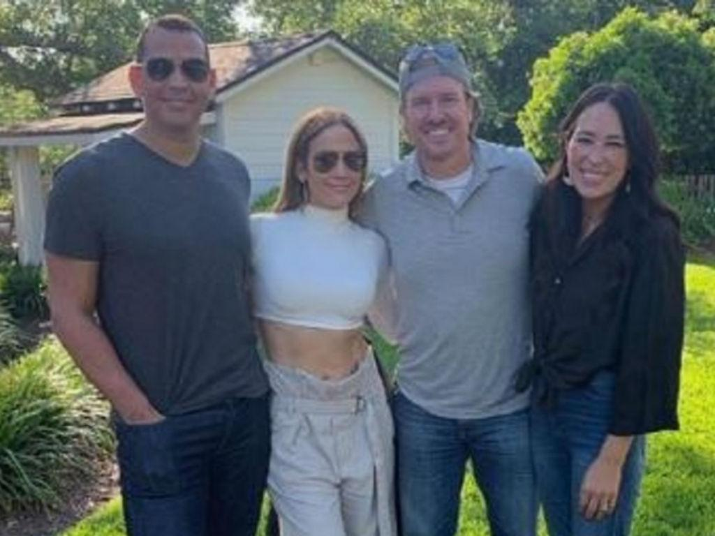 New BFF's Alert Chip And Joanna Gaines Have Fun Filled Weekend With Jennifer Lopez And Alex Rodriguez