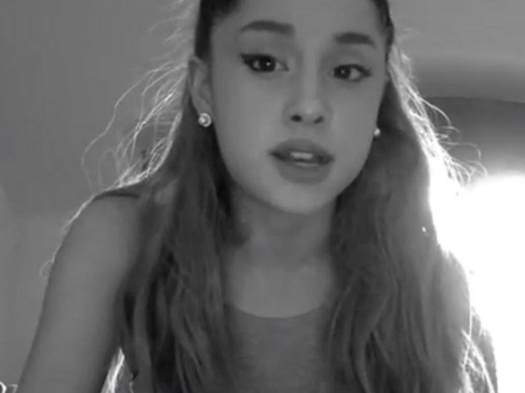 """Ariana Grande Apologizes For Startling Fans With Brain Scan """"It Was Meant To Be Informative"""""""