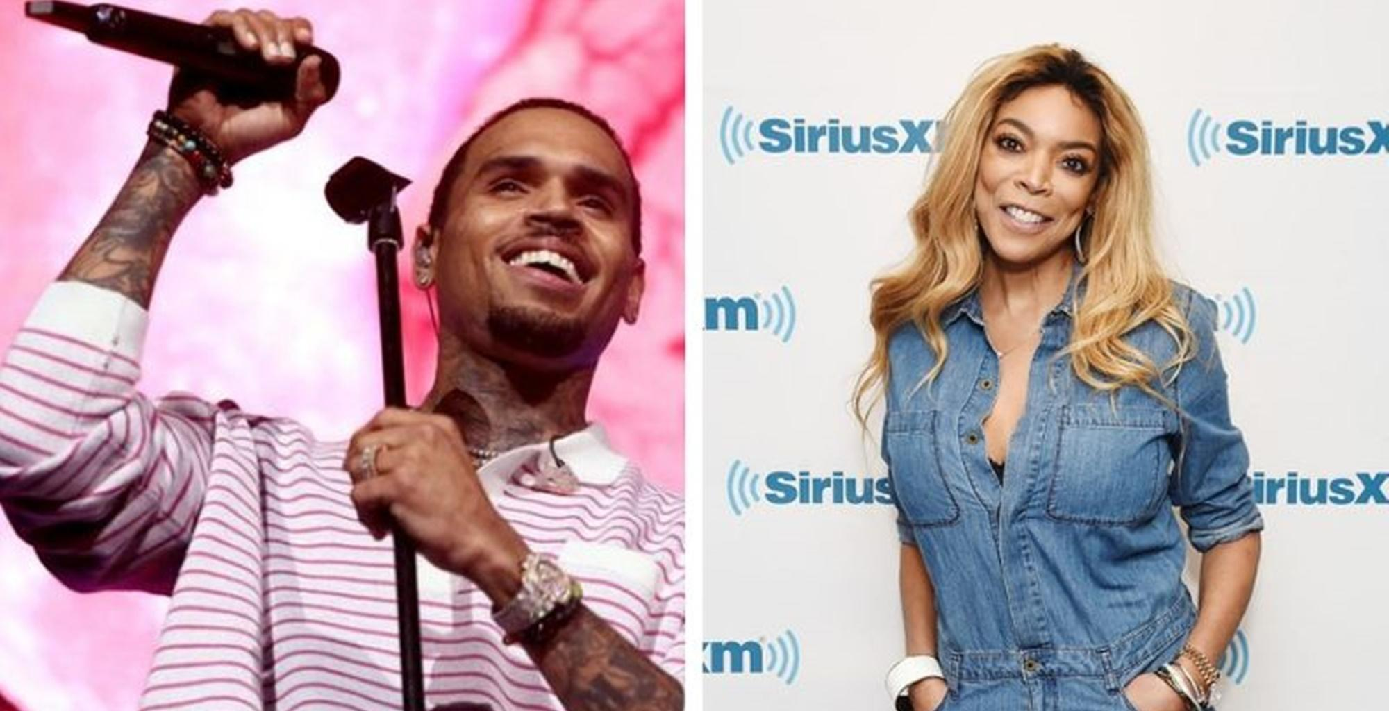 Chris Brown Fires Back At Wendy Williams On Social Media -- Fans Like Jamie Foxx Think He Is Right To Put Her On Blast