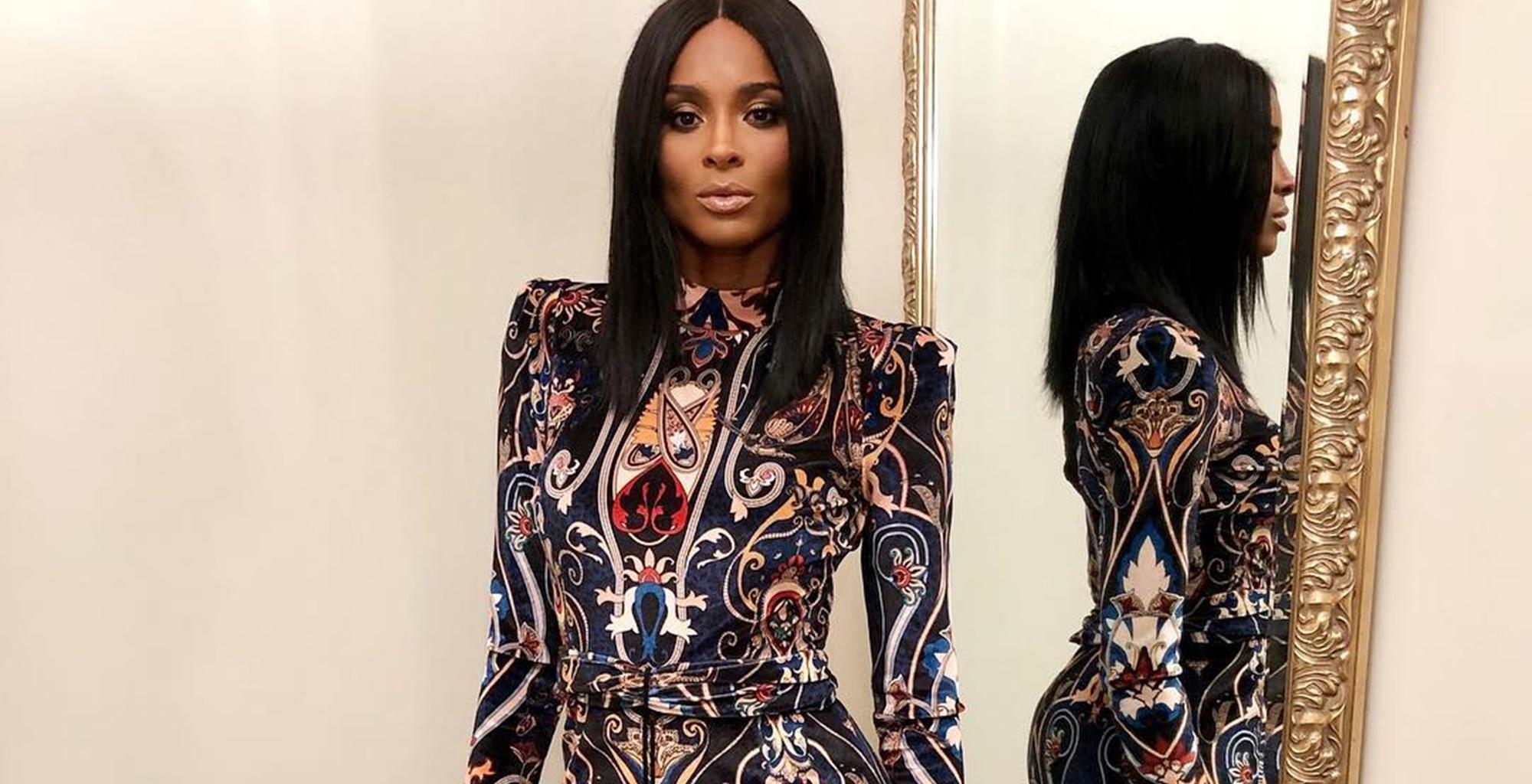 Ciara Bares It All, Removes Her Makeup, And Fake Hair In Vulnerable Picture -- Russell Wilson And Fans Are Loving Her Beauty Marks