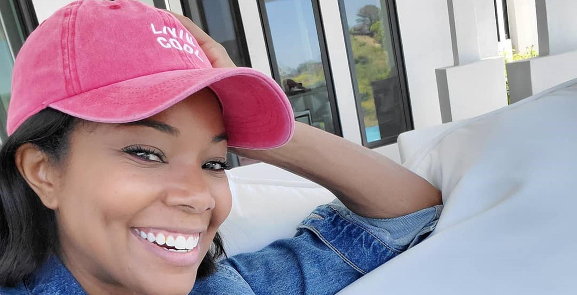 Gabrielle Union Posts A Video Of Baby Daughter Kaavia Looking 'P*ssed Off. Irritated. And Annoyed.' In Hilarious Video During Her Swimming Lesson