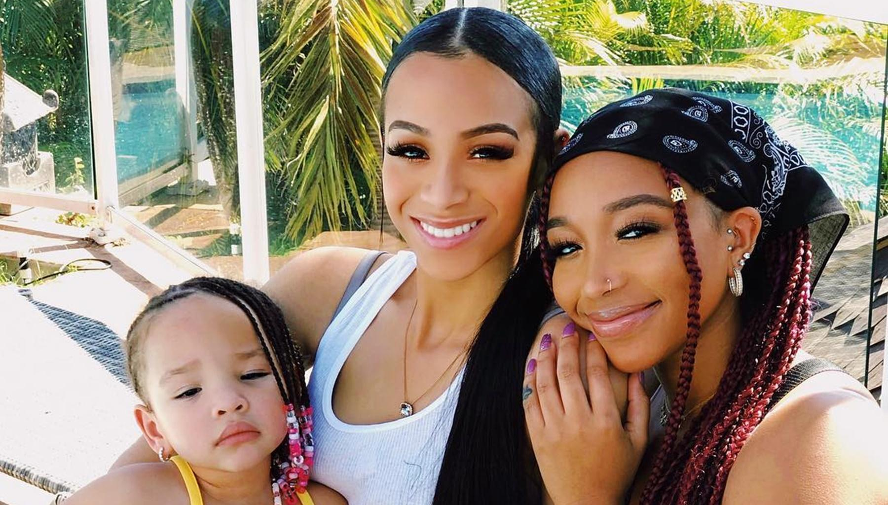 Tiny Harris Has Fans Saying Too Much Beauty In One Picture That Features Her Three Daughters In Hawaii