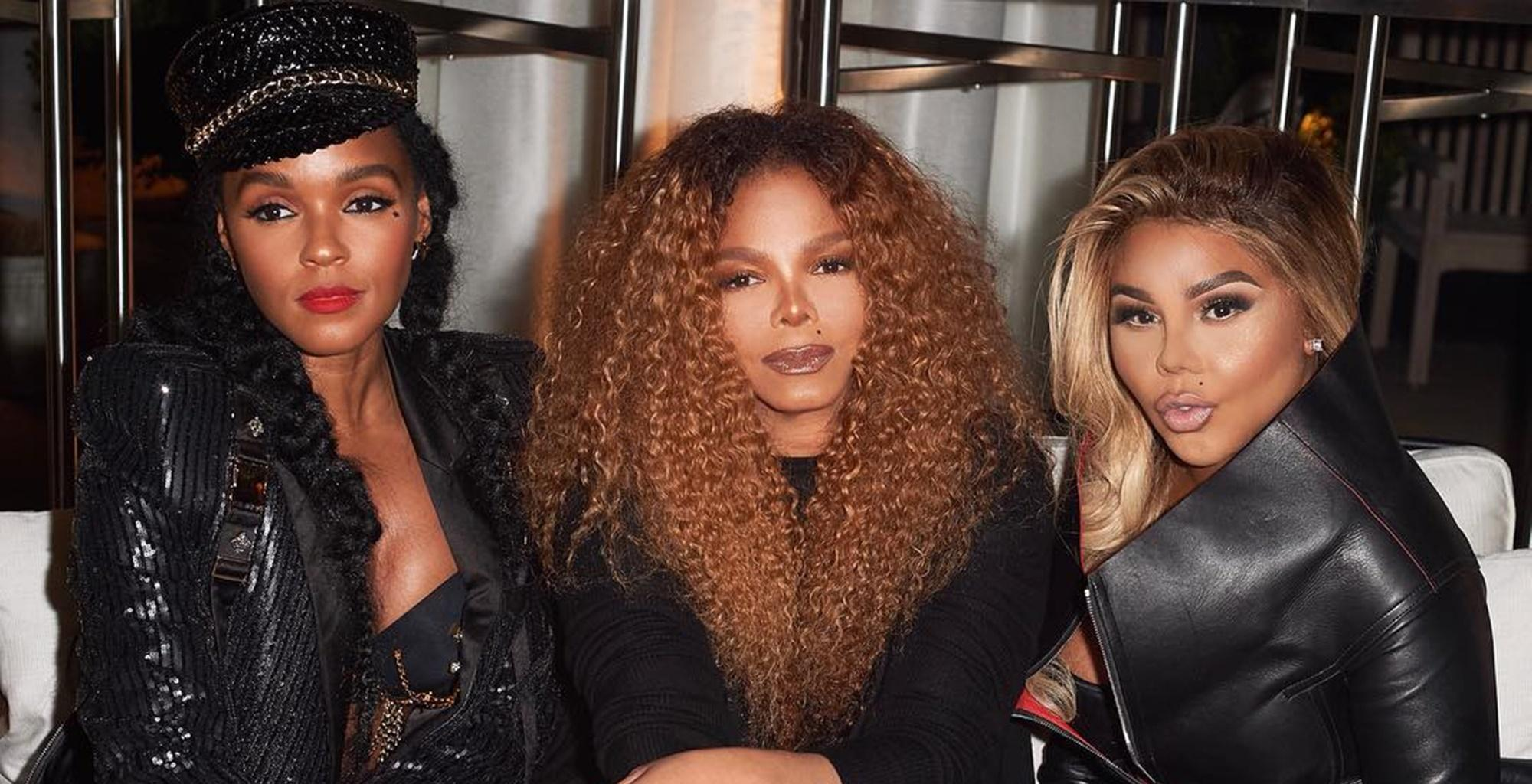 Lil Kim Channels Janet Jackson In Tight Outfit Picture