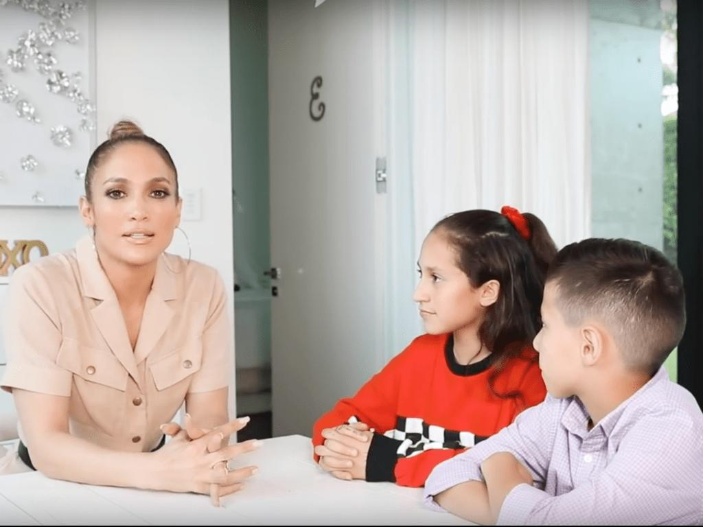 Jennifer Lopez Twins Emme And Max Put Her In Hot Seat During YouTube Interview Video – Watch It Here