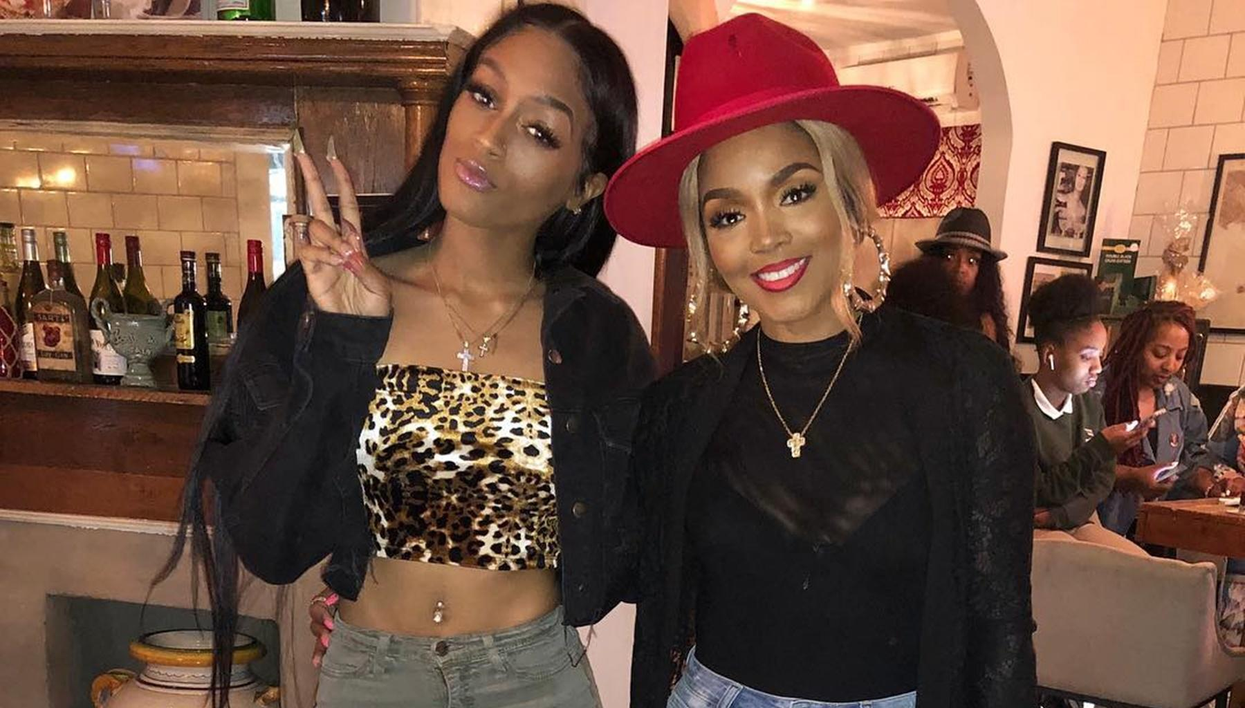 Kirk And Rasheeda Frost Had The Most Uncomfortable Party For Daughter Kelsie -- Kandi Burruss And Phaedra Parks Show Love To The Video