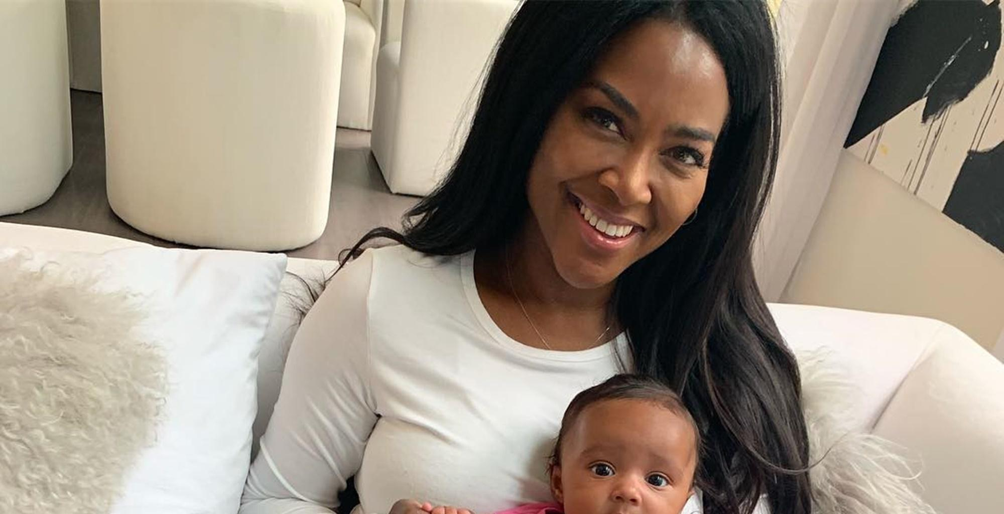 Kenya Moore Kills It In Little Black Dress Photo -- Curious Fans Have Questions About Her Vanishing Waistline