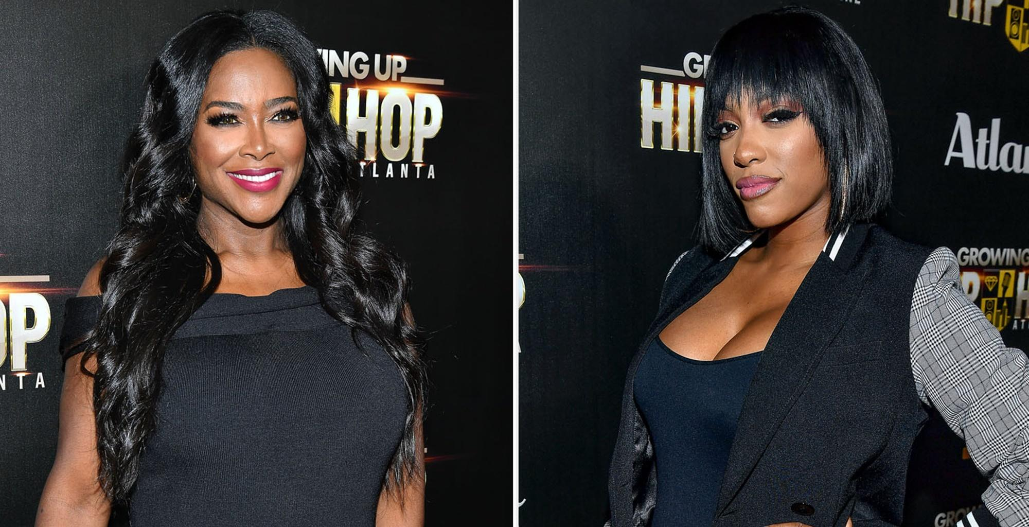 Kenya Moore And Porsha Williams Share Photos Of Newborn Daughters With Loving 'RHOA' Fans