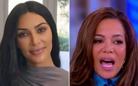 "'The View' Host Sunny Hostin Slams Kim Kardashian For Taking ""Shortcuts"" To Become A Lawyer"
