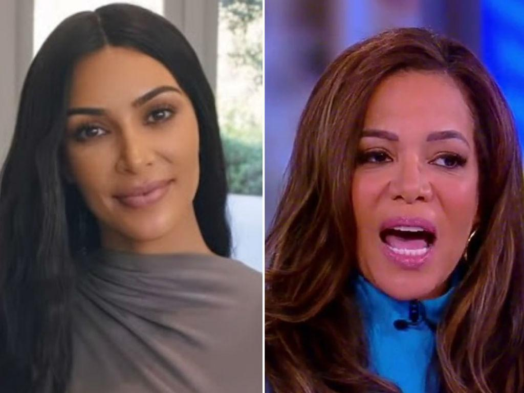 """'The View' Host Sunny Hostin Slams Kim Kardashian For Taking """"Shortcuts"""" To Become A Lawyer"""