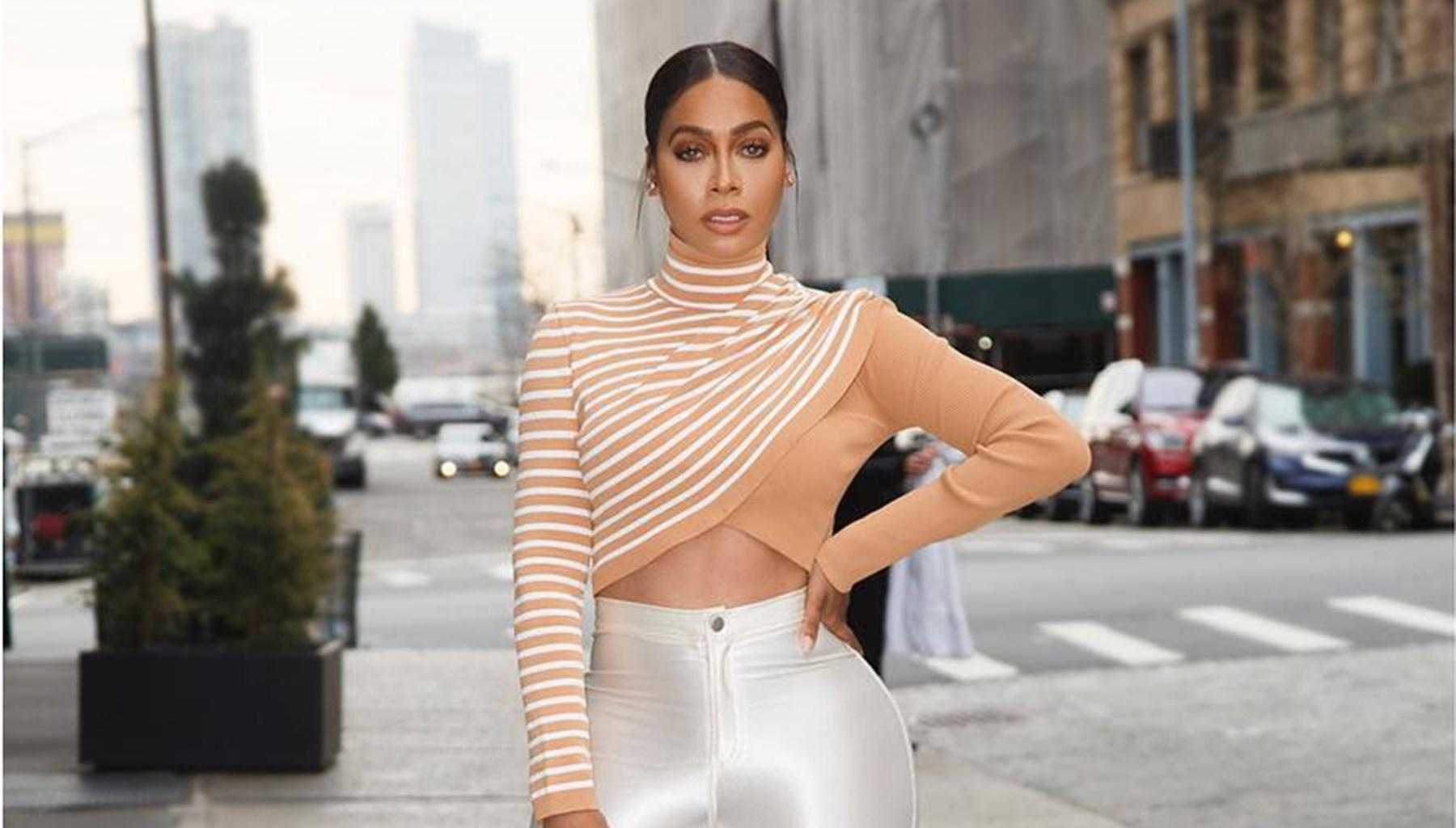 La La Anthony Shares Video Of Her Huge Baby Bump After Reconciling With Husband Carmelo -- 'Power' Actress Sends Fans Into A Frenzy