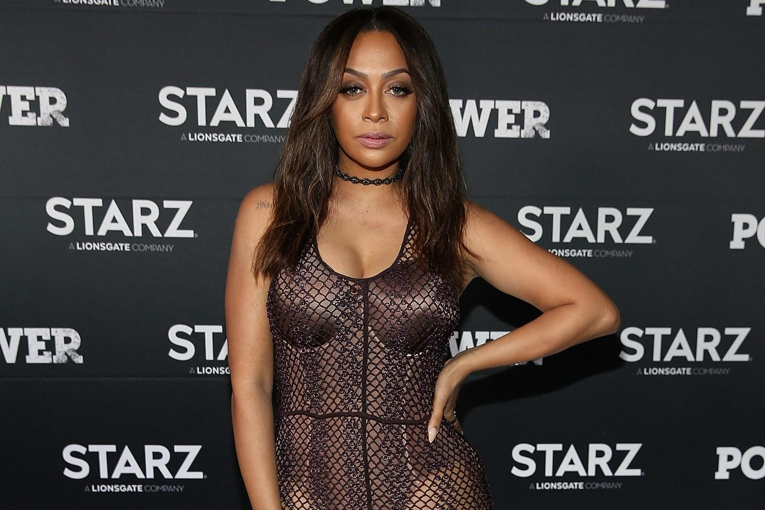 La La Anthony Looks Like A Sultry Mermaid In Plunging Sequined Jumpsuit - Check It Out!
