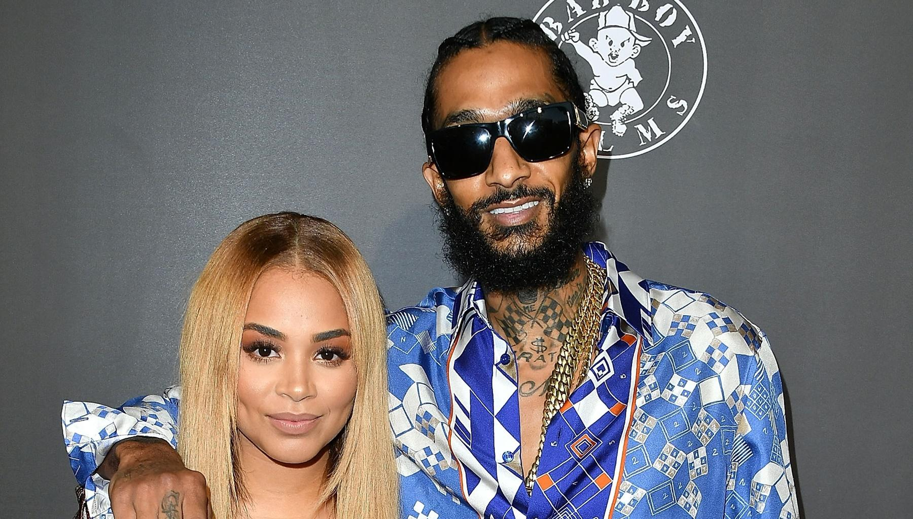 Lauren London's Ex-Boyfriend Lil Wayne Shows Nipsey Hussle Love After His Son, Cameron Carter, Stunned At The Memorial -- Some Annoyed Fans Are Still Not Happy