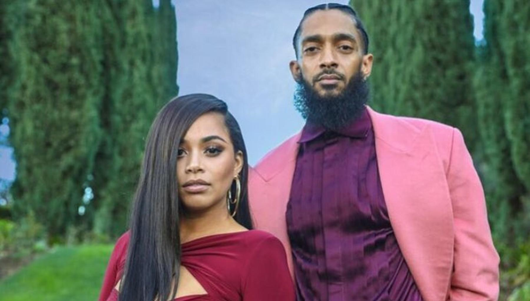 Lauren London And Members Of Nipsey Hussle's Family Pay Respects While Some Fans Are Still Looking For Answers