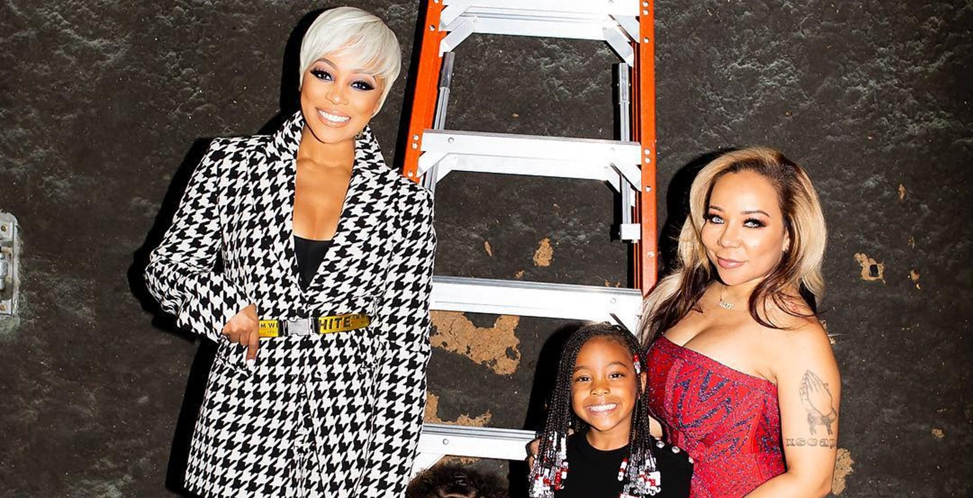 Tiny Harris Announces Monica Brown's New Video 'Commitment'