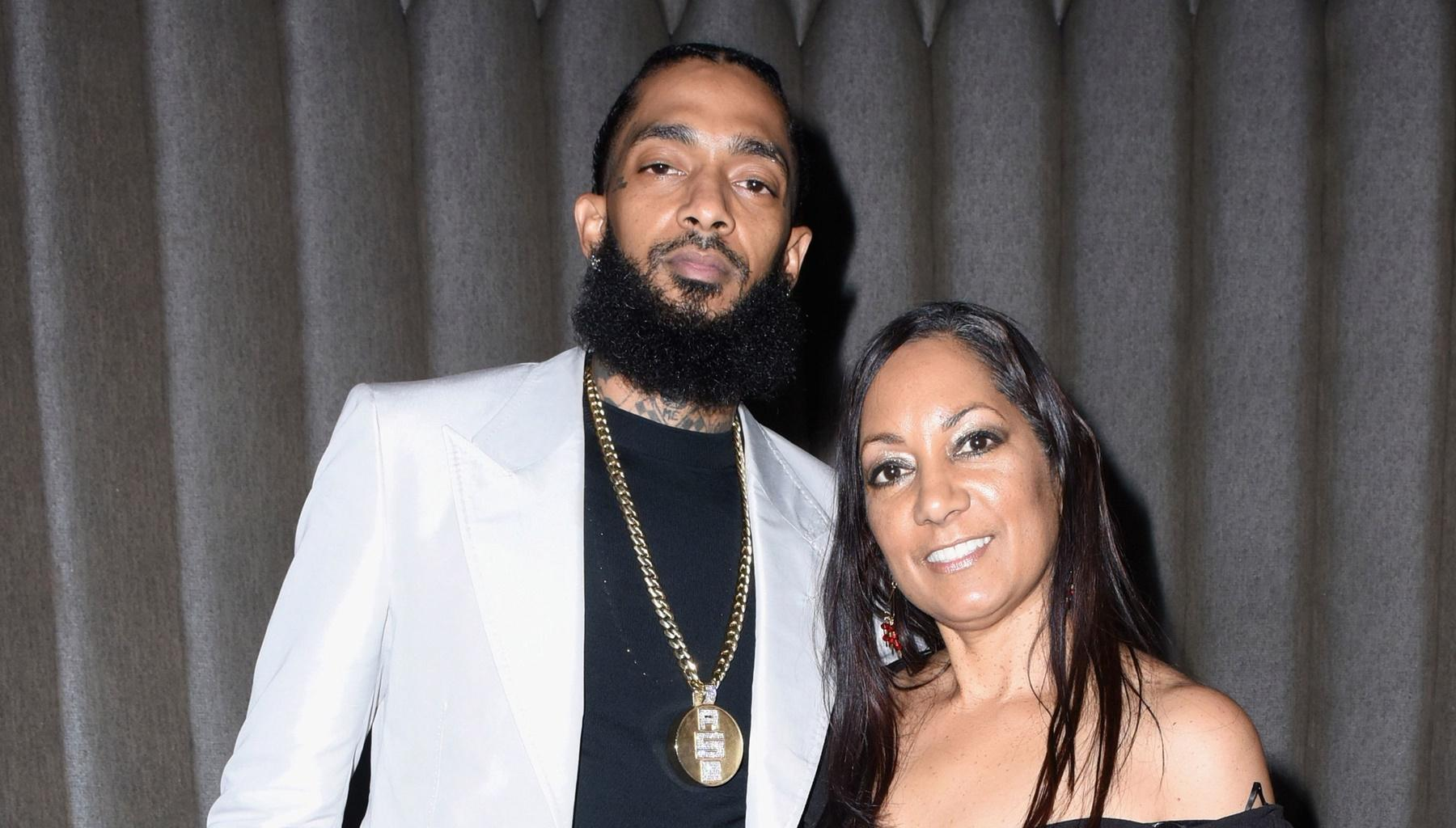 Nipsey Hussle's Mother Prophetic Message To Fans Gives Them Life As She Reveals That He Looks Radiant And Peaceful After Death