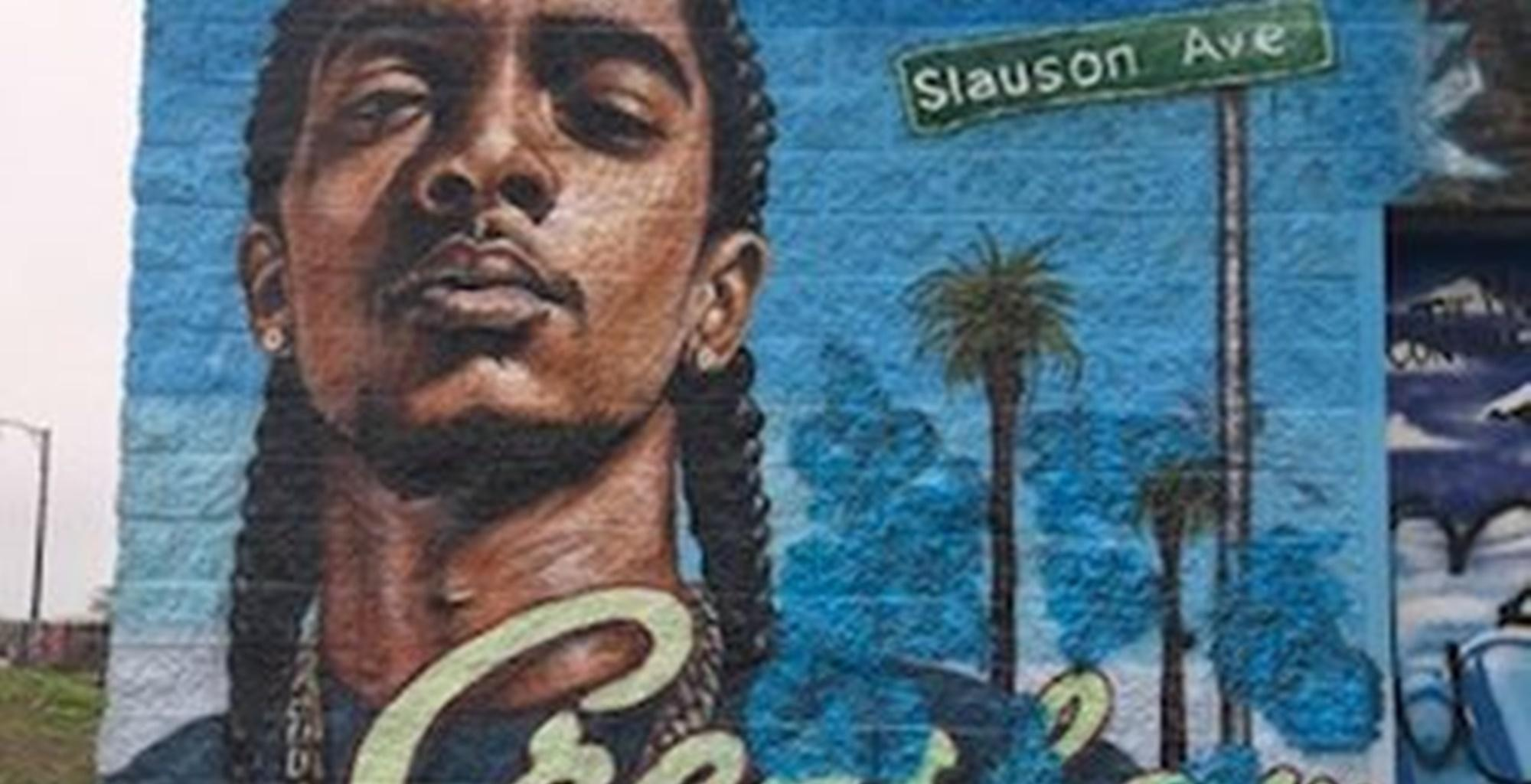 Nipsey Hussle's Mural In Connecticut Destroyed By Teen Kaitlyn 'Kay Kay' Renee -- After Video Went Viral, The Community Had An Epic Reaction