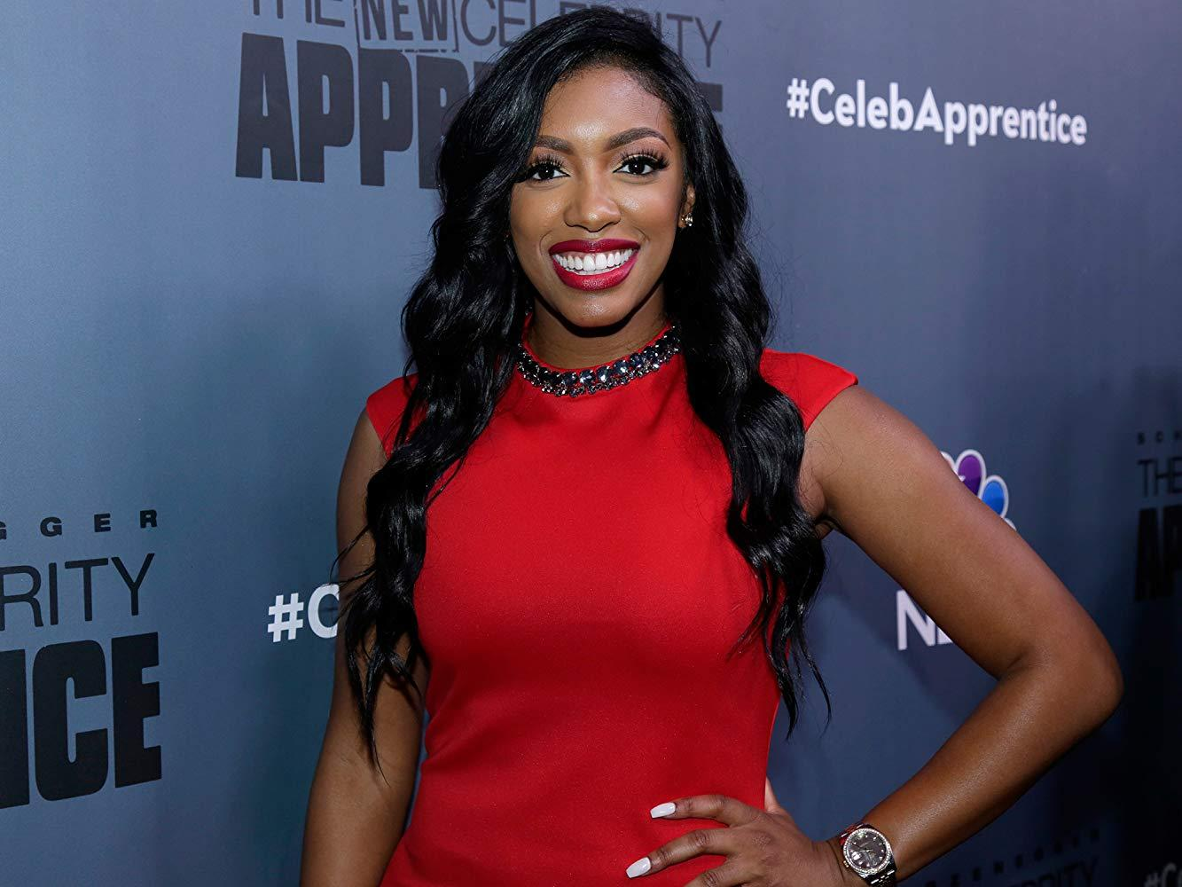 Porsha Williams Looks Angelic In All-White While Snuggling Baby Pilar - Check Out The Pics!
