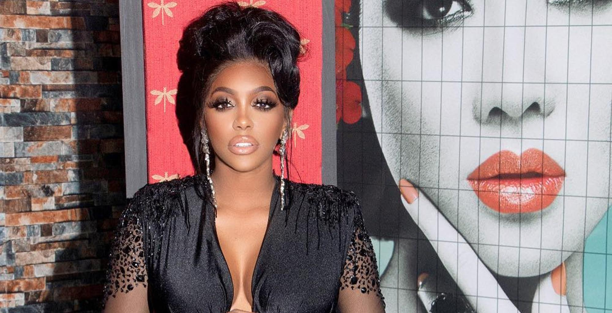 Porsha Williams Gives A Glimpse Of Baby Pilar's Face In New Picture As She Turns One Month Old