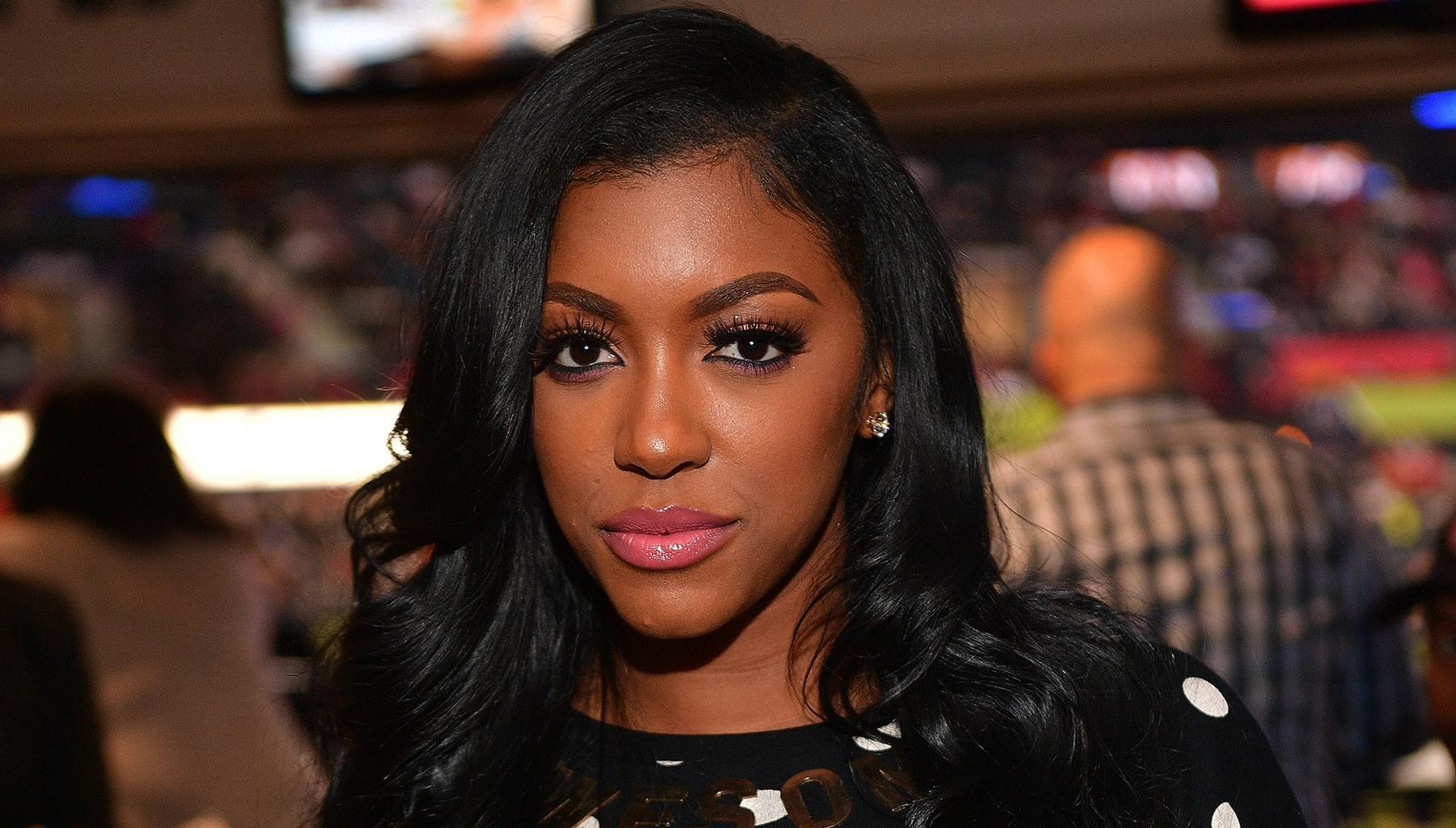 Porsha Williams And Her Mini-Me Daughter Pose In Sweet Picture With Dennis McKinley -- See Why 'RHOA' Fans' Hearts Are Melting