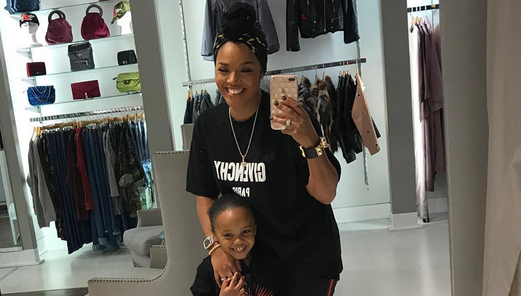 Fashion Icon Rasheeda Frost Dances With Her And Kirk's Son, Karter Frost At Her Pressed Boutique And Fans Are Here For It