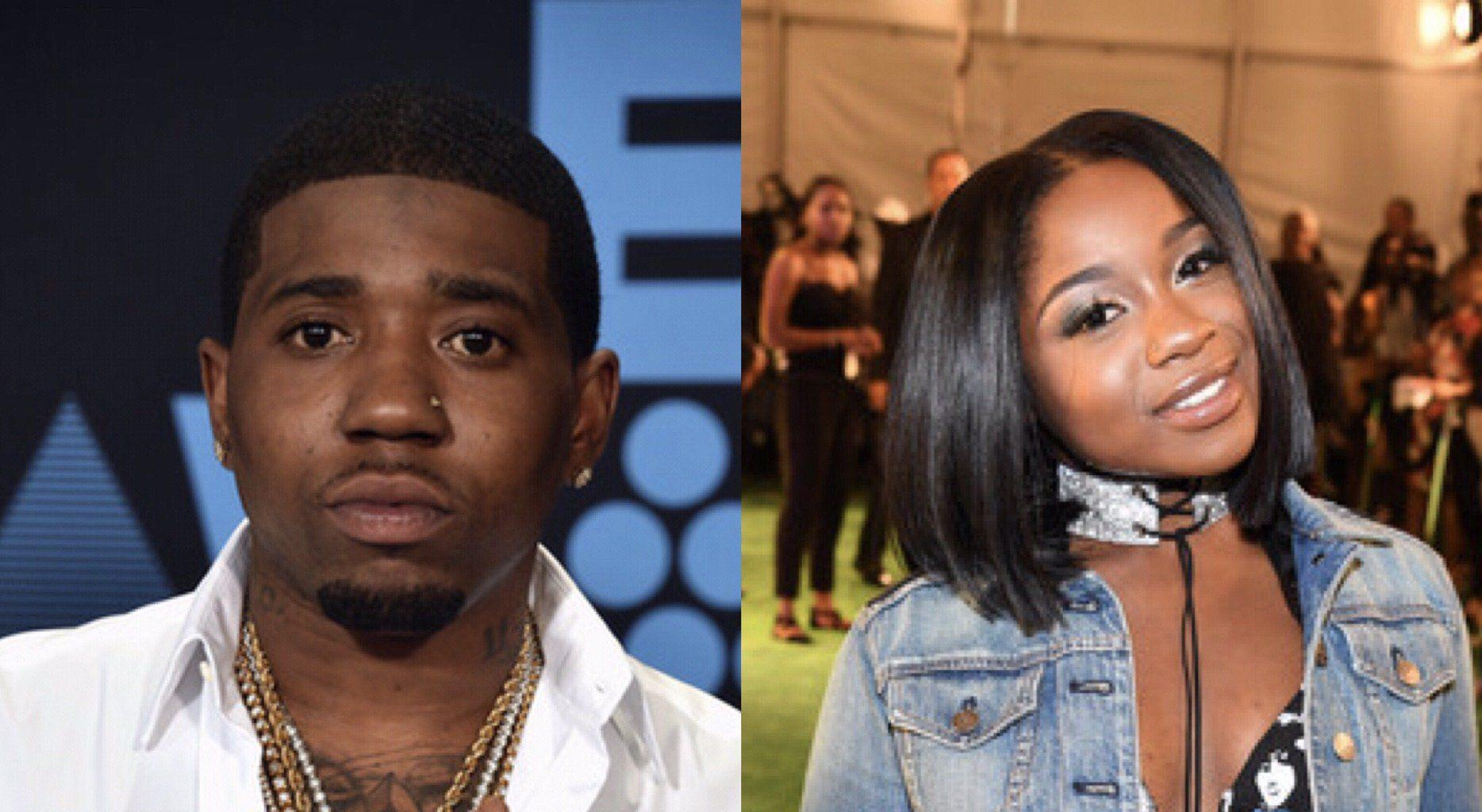 Reginae Carter Is Back Together With Her Boo, YFN Lucci - Here's The Video Of Them Hanging Out - Some Fans Don't Believe She's Happy Anymore