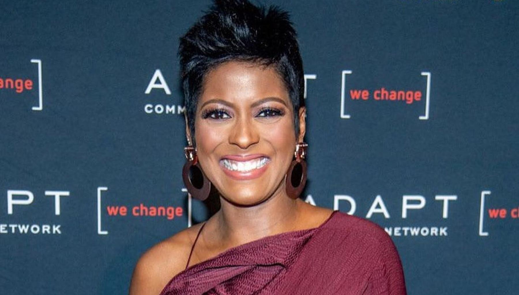 Tamron Hall Shares First Picture Of Her Beautiful Baby Son, Moses Greener, And Reveals Why Her Husband, Steven, Cannot Stop Crying