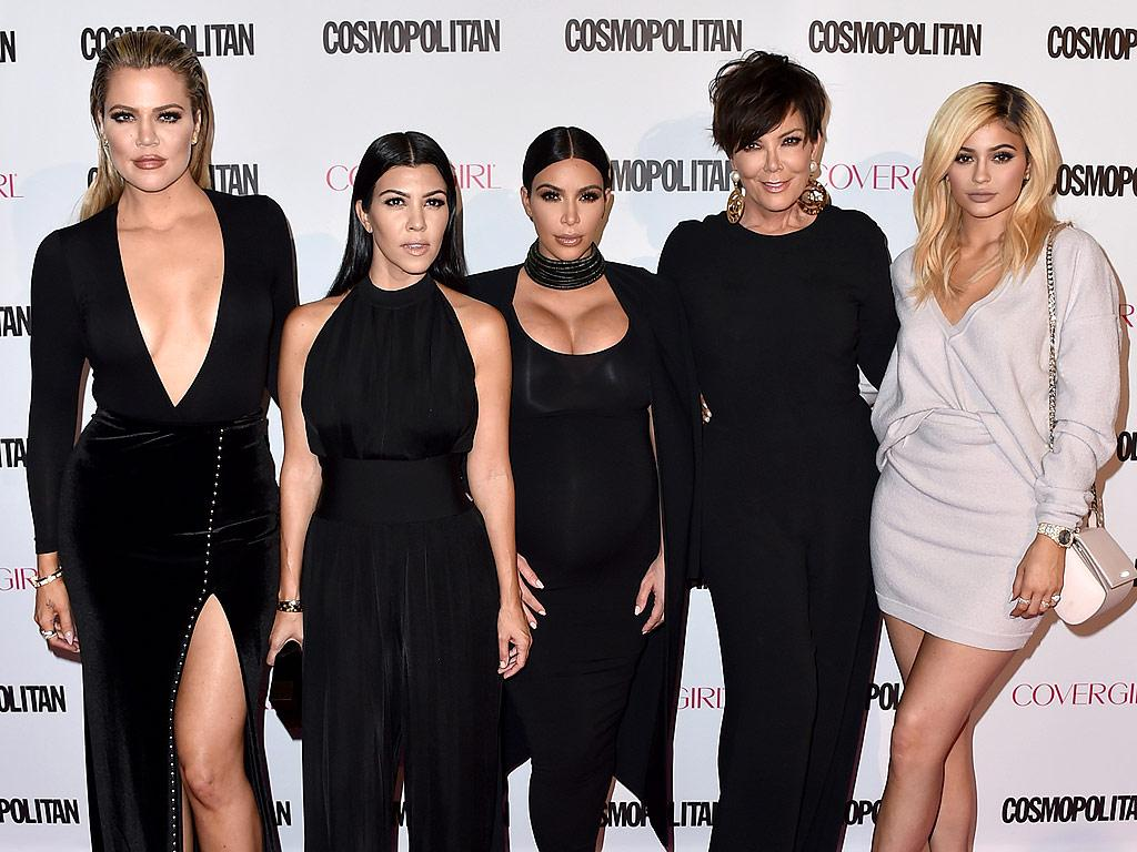 Kardashians Honor Their Father Robert Kardashian At The Opening Of A New Medical Center