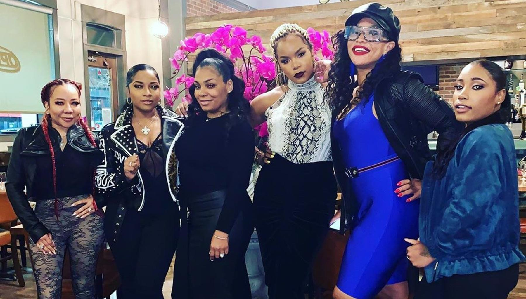 Tiny Harris And Several Of Her Friends Go Wild For Ladies' Night And Toya Wright's Little Sister Stole The Show In The Photos For An Unexpected Reason