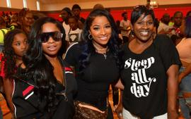 Toya Wright Celebrates Her Mother's Birthday With Gorgeous Photos - Fans Say She Looks Young And Vibrant