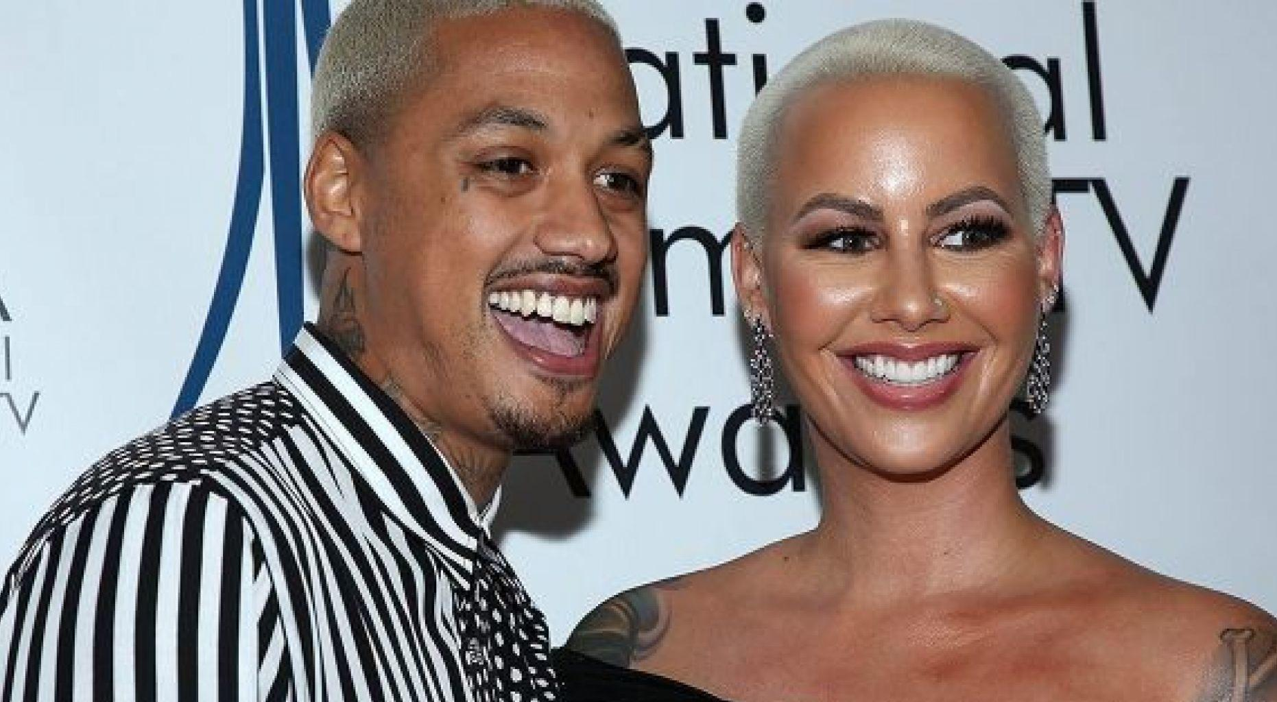 Amber Rose Is Certain Baby Daddy To Be Alexander 'AE' Edwards Is Her 'Soulmate' - Here's Why