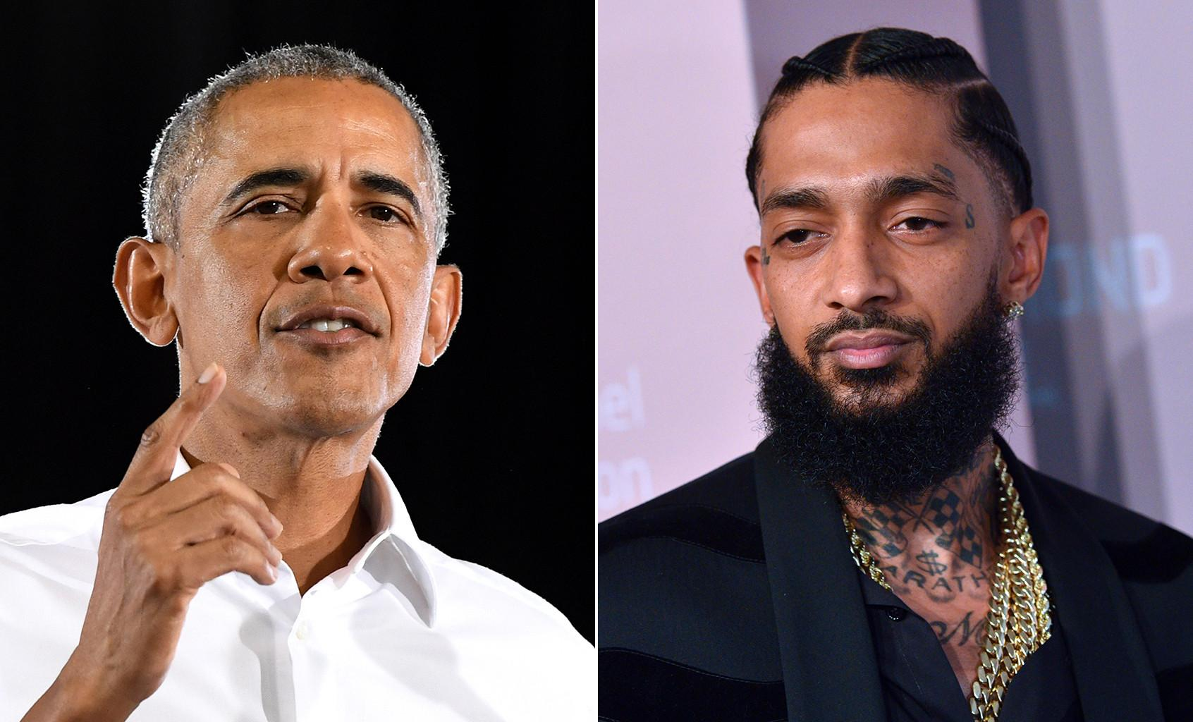 Barack Obama Praises Nipsey Hussle In A Letter - Read It Here And Watch The Video