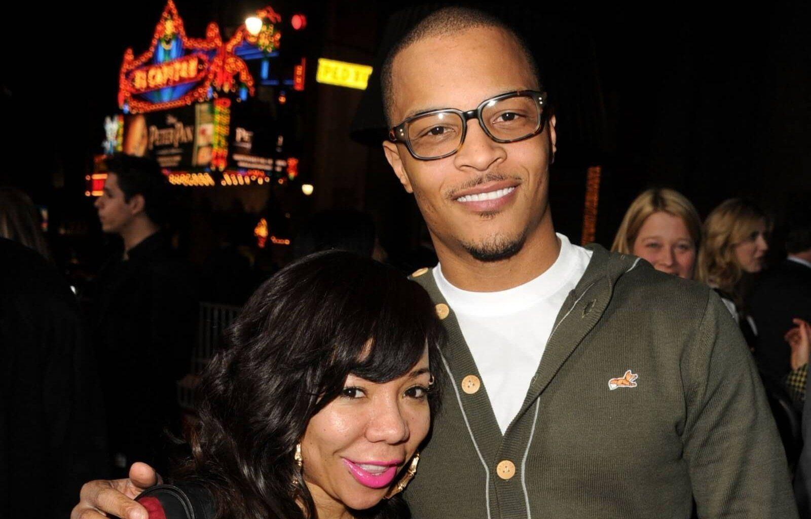 T.I. And Tiny Harris Assumed A Solemn Air At The Historical Nipsey Hussle's Memorial Service And Fans Respect Their Empathy - See The Photo That Tip Shared
