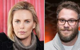 Seth Rogen Jokes That It Took Him '7 Years' To Reach His Goal Of Staring Alongside Charlize Theron