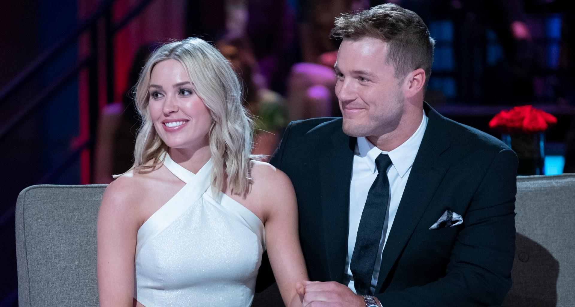 Colton Underwood Wears Shirt With Cassie Randolph's Face On It To Show His Love!