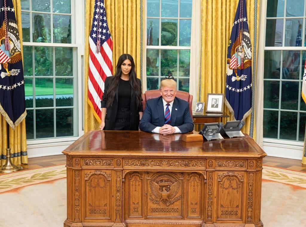 KUWK: Kim Kardashian Sick Of People Criticizing Her For Working With Donald Trump - Says She Just Wants To 'Save Lives'