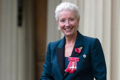 Emma Thompson Reveals She Made A Really 'Loud And Inappropriate Noise' When Prince William Named Her A 'Dame'