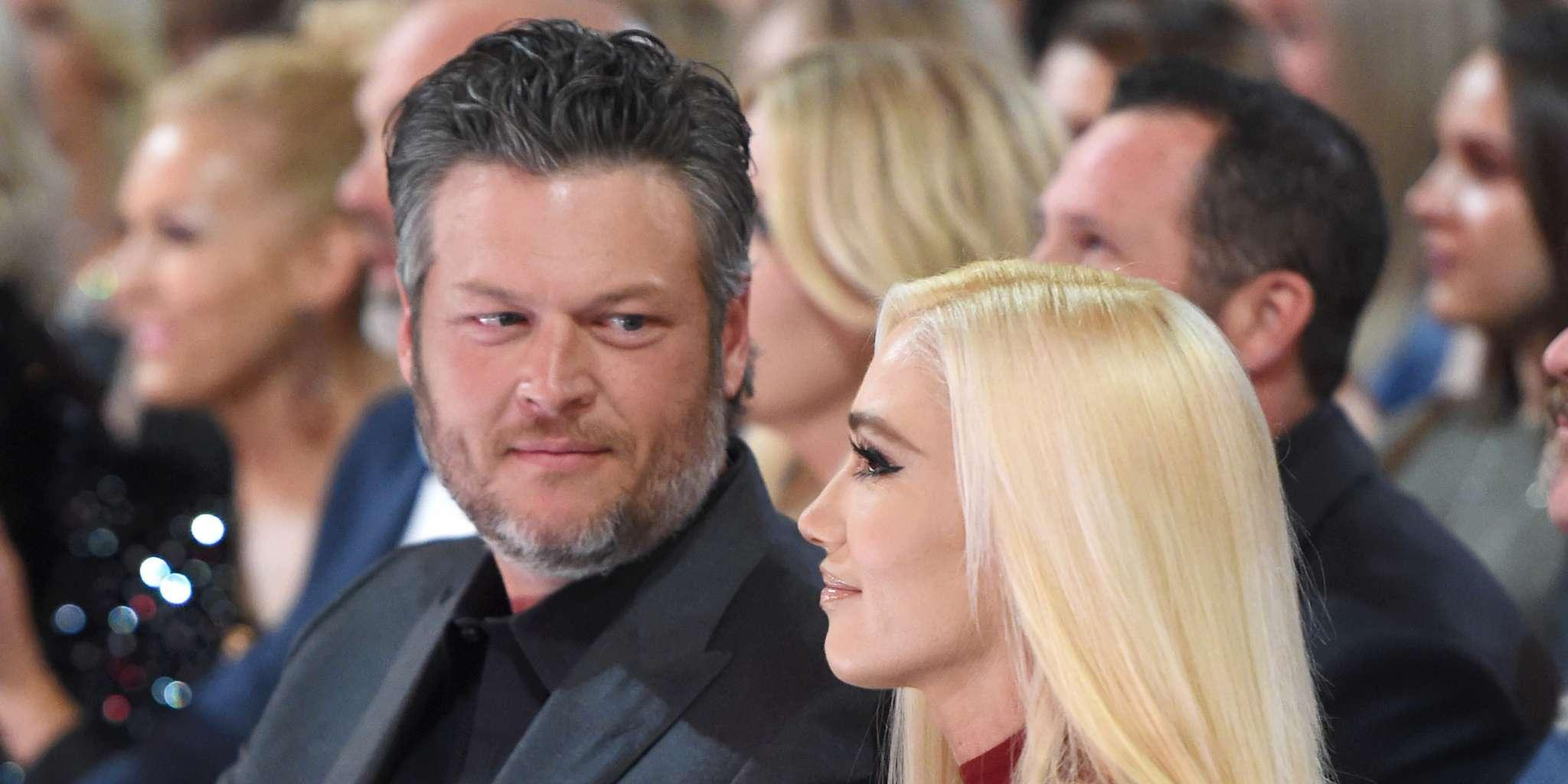 Blake Shelton Is Beyond Grateful Gwen Stefani Chose To Come Cheer For Him At The ACM Awards