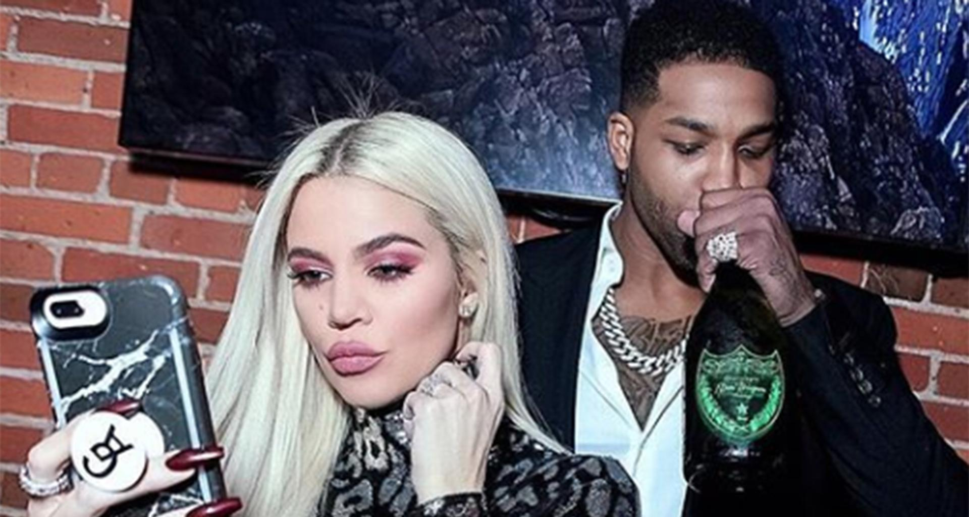 Khloe Kardashian And Tristan Thompson Are Reportedly Barely Speaking