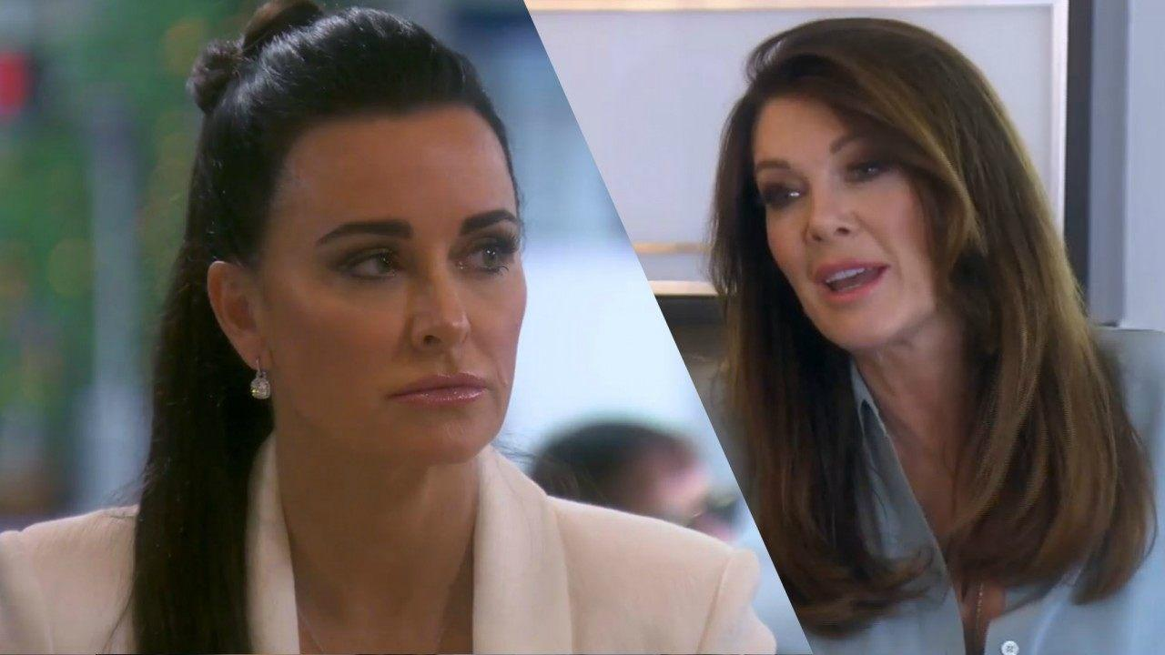 Lisa Vanderpump Rejects Kyle Richards' 'Love' Following Their Drama - 'I Don't Need It!'