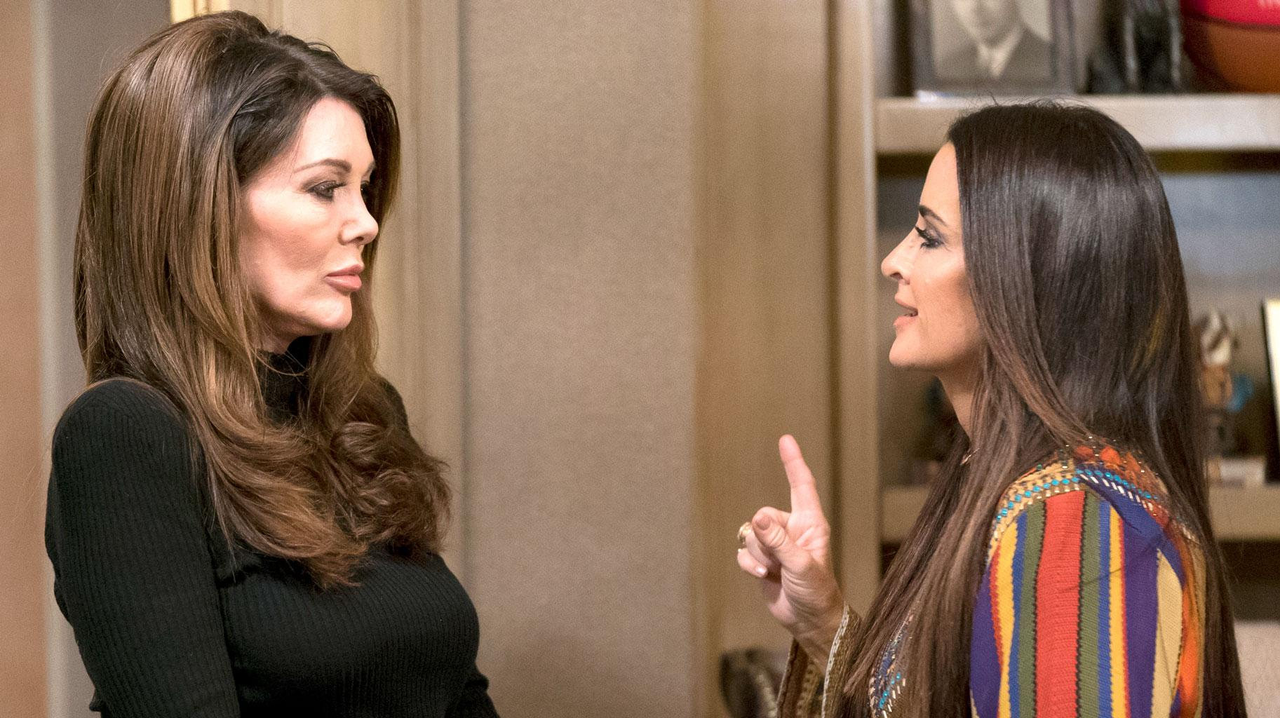 Kyle Richards Is Reportedly 'Sad' About Her Friendship With Lisa Vanderpump Ending