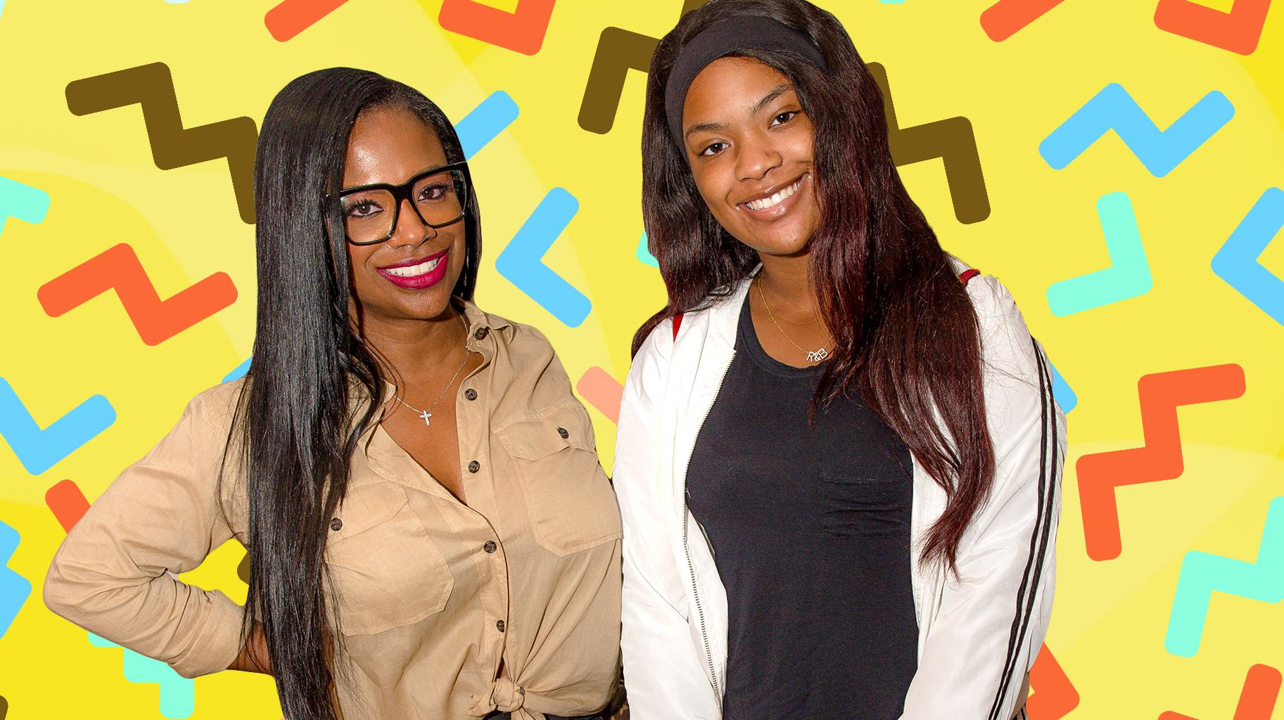 Kandi Burruss Has A Q&A With Riley Burruss And Fans See A 'Kandi Burruss Show' Coming