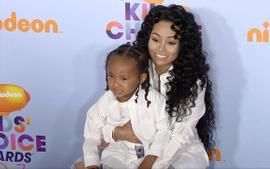 Blac Chyna Flaunts Her Curves By The Pool With Her Son, King Cairo Who's Tyga's Twin In A Photo: 'I Got A Real King On My Side' - See The Pics
