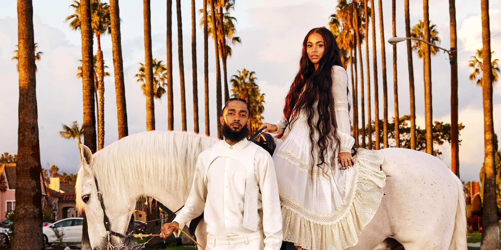 J.Lo, Alicia Keys, Ciara, And More Celebrities Are Sending Their Love And Support To Nipsey Hussle's Devastated Girlfriend Lauren London Who Lost Her 'Sanctuary, Protector, And Soul'