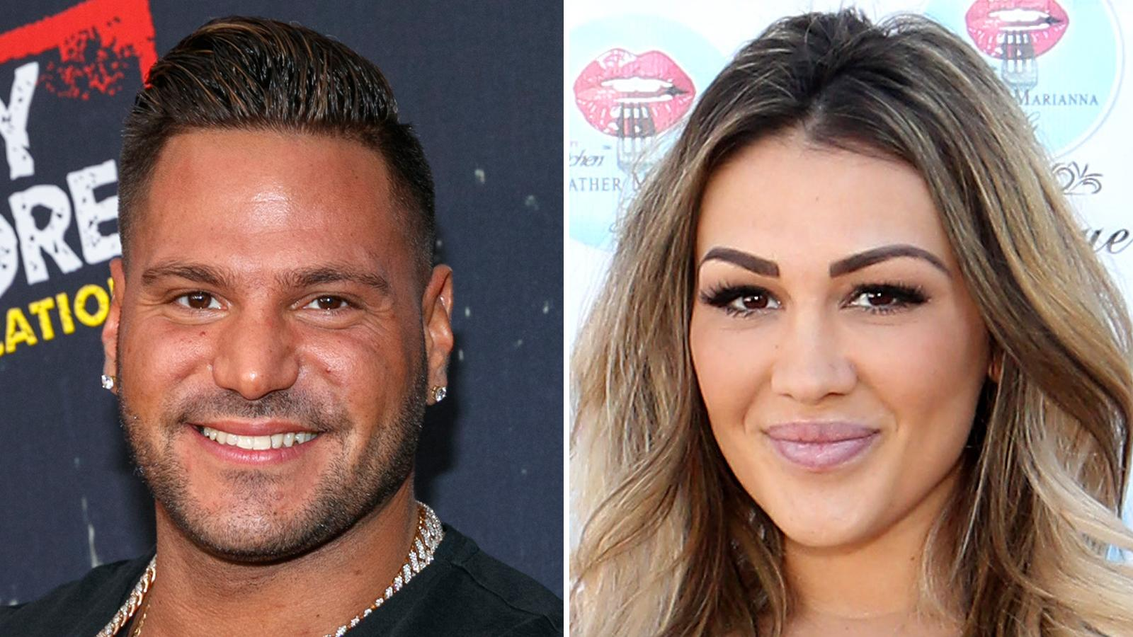 Jen Harley And 'Jersey Shore's Ronnie Magro Celebrate Ariana Sky's 1st Birthday -- Are The Parents Finally Broken Up?